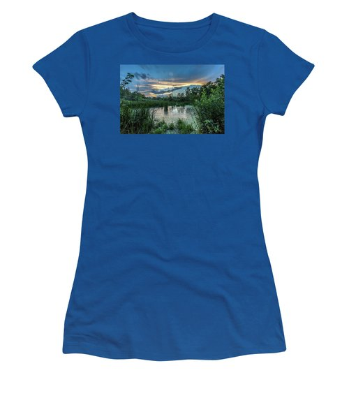 Columbia Marsh Sunset Women's T-Shirt (Athletic Fit)
