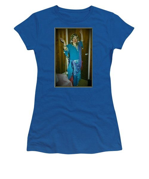 Women's T-Shirt (Athletic Fit) featuring the photograph Come With Me To The Casbah by Denise Fulmer