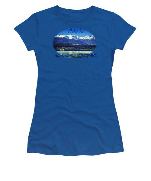 Comox Glacier And Herring Boat Women's T-Shirt
