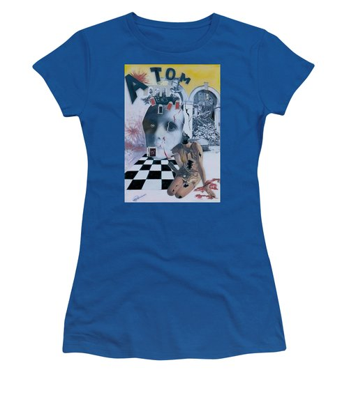 Contrast Women's T-Shirt (Athletic Fit)
