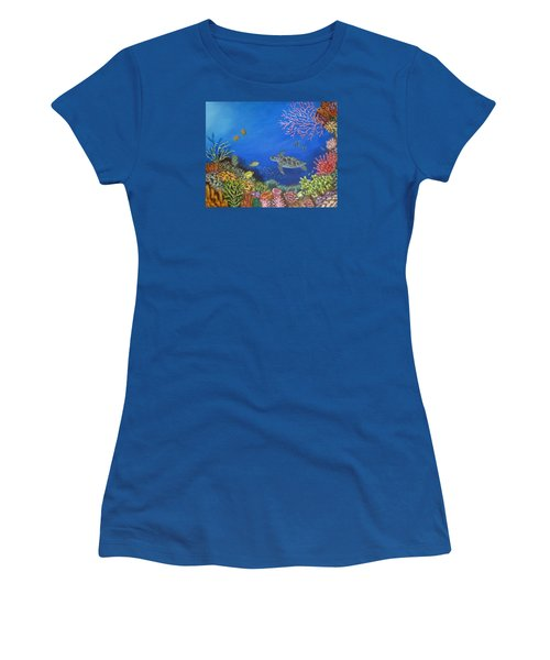 Coral Reef Women's T-Shirt (Athletic Fit)