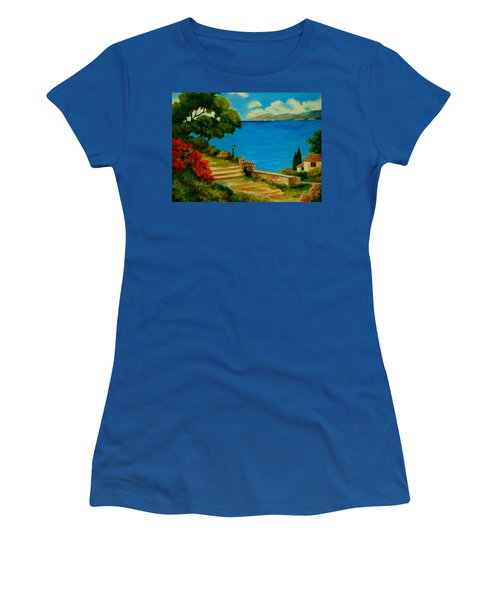 Corfu-greece Women's T-Shirt (Athletic Fit)