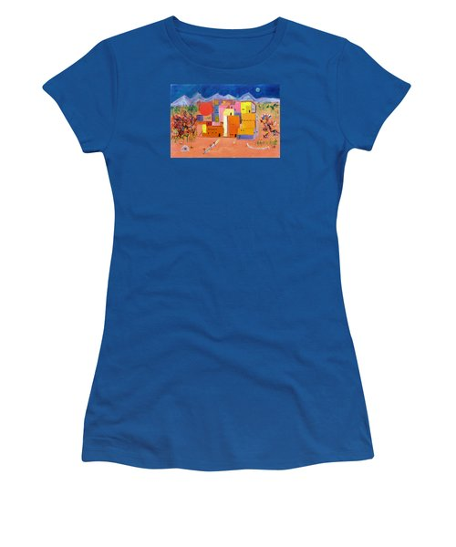 Corn Dance Women's T-Shirt (Athletic Fit)
