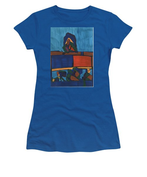 Courtroom  Women's T-Shirt (Athletic Fit)