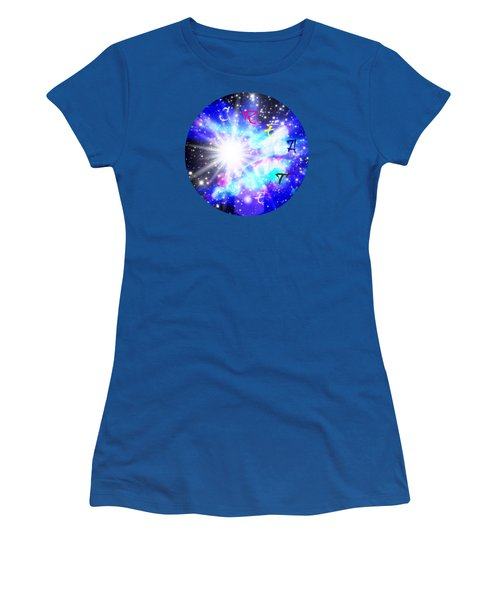 Create 1 Women's T-Shirt (Junior Cut) by Leanne Seymour