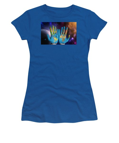 Created By God's Own Hands Women's T-Shirt