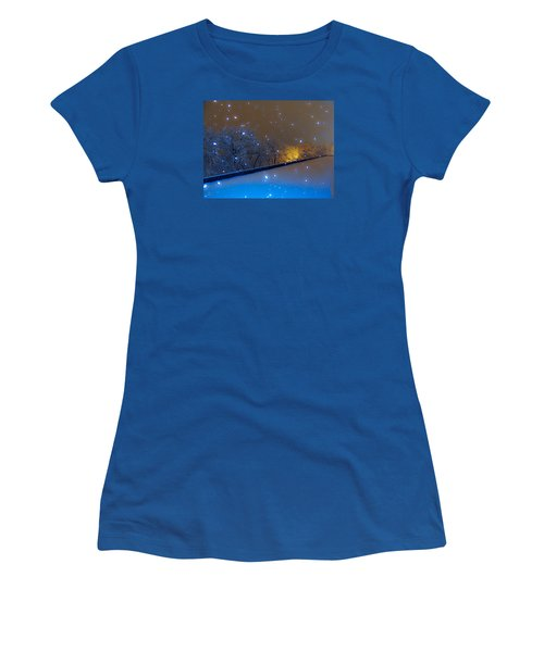 Crystal Falls Women's T-Shirt (Athletic Fit)