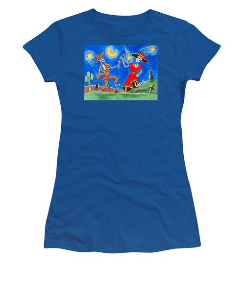 Dance Of The Dead Women's T-Shirt (Athletic Fit)
