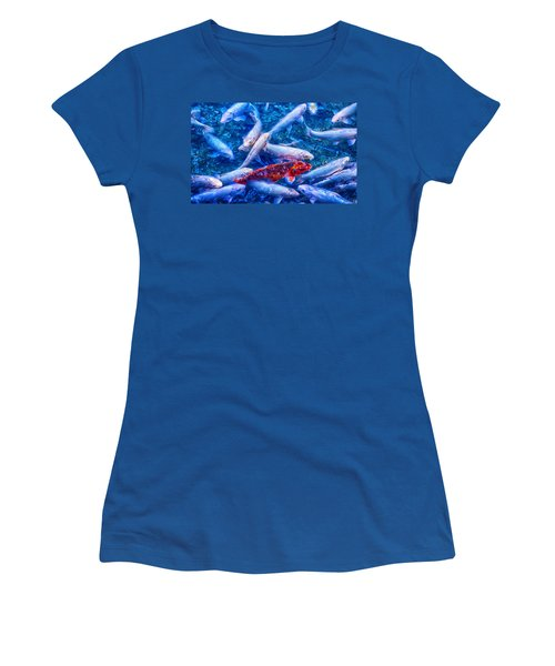 Dare To Stand Out Women's T-Shirt (Junior Cut) by Swank Photography
