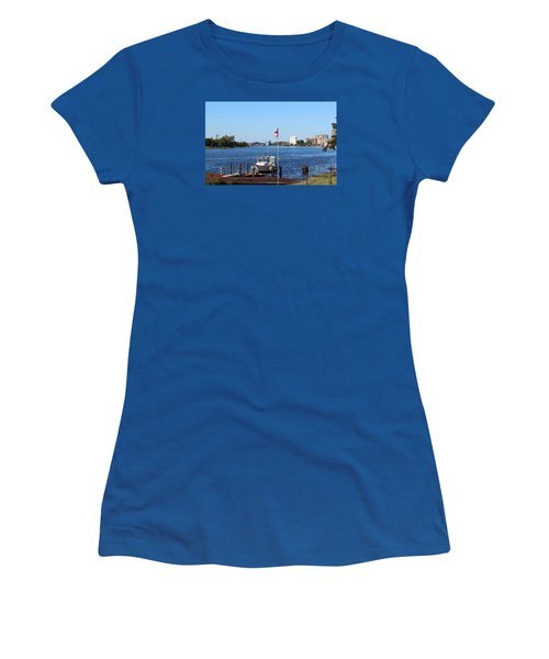 Daytime Beauty  Women's T-Shirt (Athletic Fit)