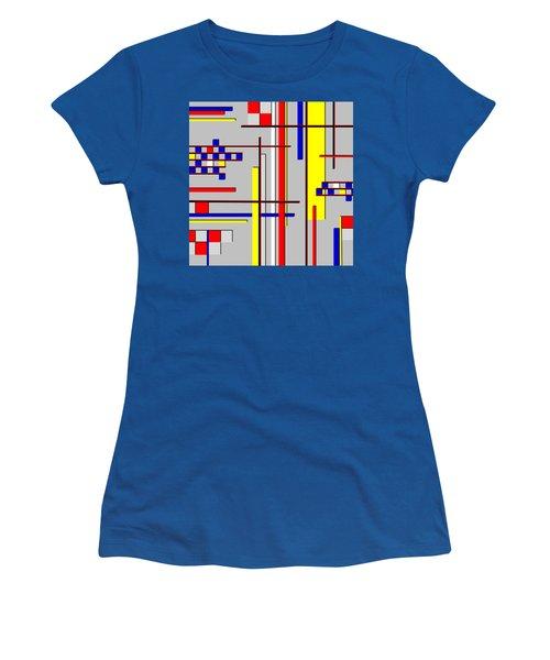 De Stijl Love Women's T-Shirt (Junior Cut) by Tara Hutton