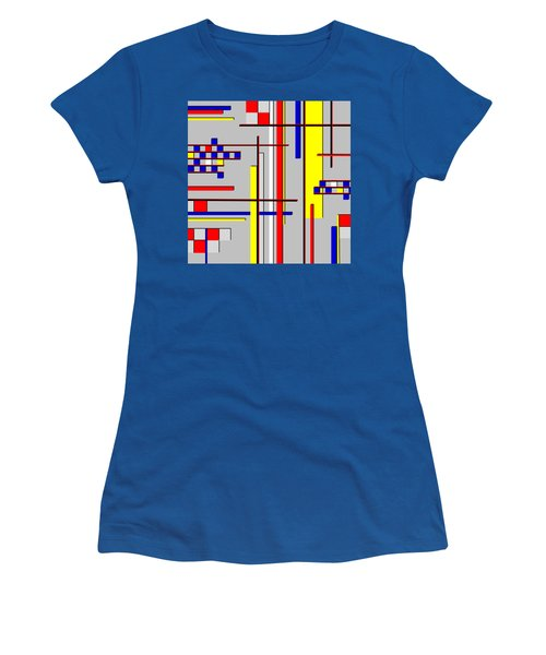 De Stijl Love Women's T-Shirt (Athletic Fit)
