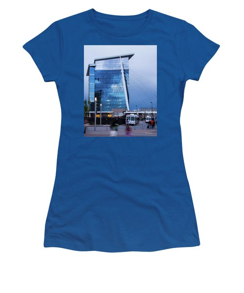 Denver Union Station And Milennium Bridge Women's T-Shirt