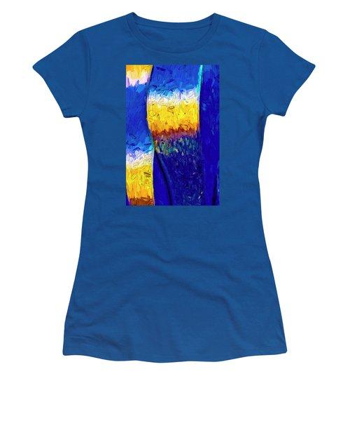 Women's T-Shirt (Junior Cut) featuring the photograph Desert Sky 1 by Paul Wear