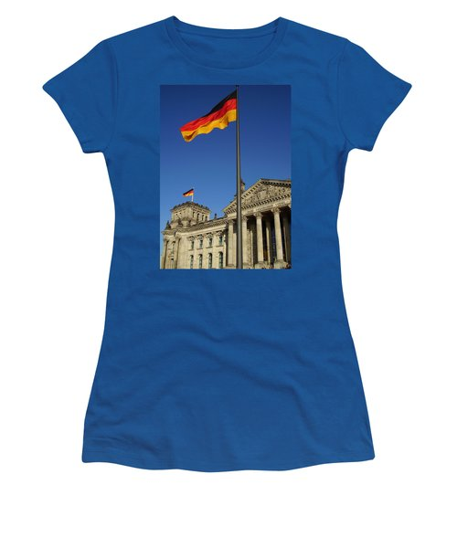 Deutscher Bundestag Women's T-Shirt (Junior Cut) by Flavia Westerwelle