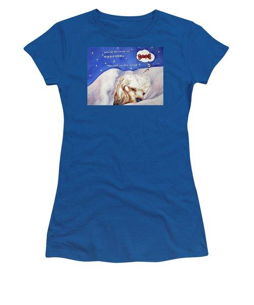 Doggie Dreams Women's T-Shirt