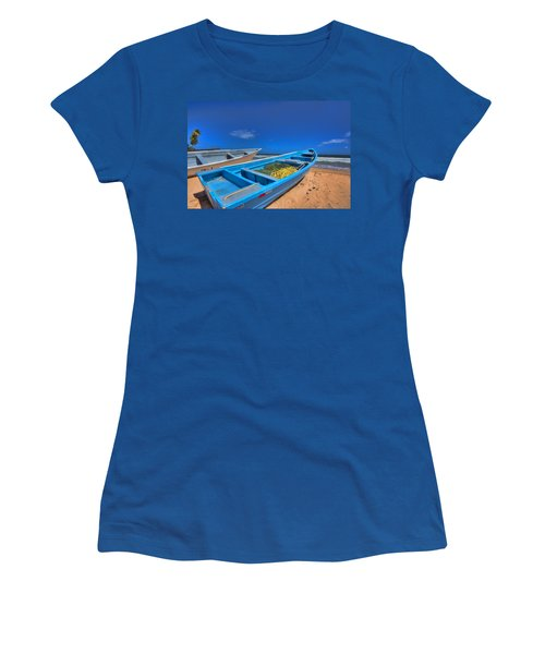Done For The Day Women's T-Shirt (Athletic Fit)
