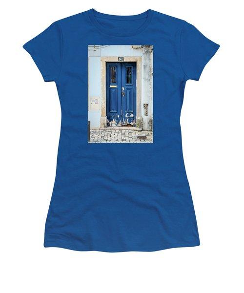 Door No 67 Women's T-Shirt (Junior Cut) by Marco Oliveira