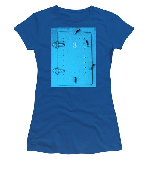 Women's T-Shirt (Athletic Fit) featuring the photograph Door Number 3 by Paul Wear