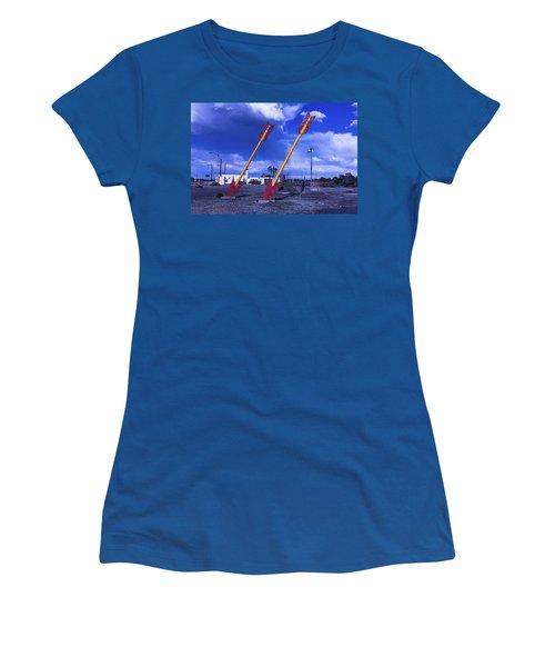 Double Arrows Women's T-Shirt