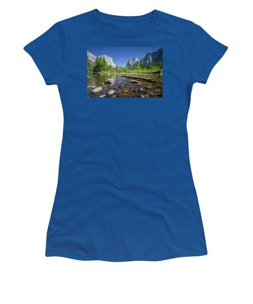 Down In The Valley Women's T-Shirt (Junior Cut) by JR Photography