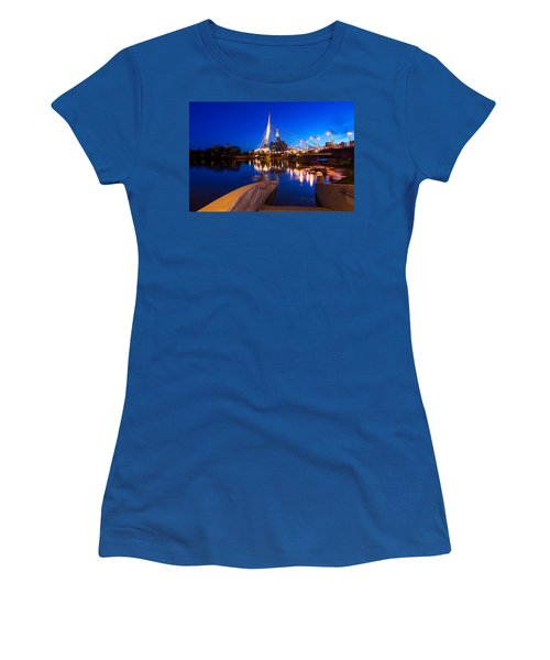 Downtown Winnipeg Women's T-Shirt (Athletic Fit)
