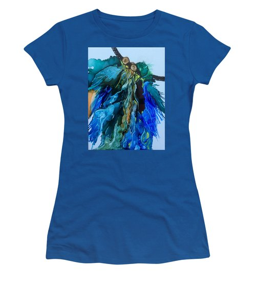 Women's T-Shirt (Junior Cut) featuring the painting Dream Catcher by Pat Purdy