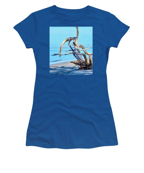 Driftwood On Jekyll Women's T-Shirt (Athletic Fit)