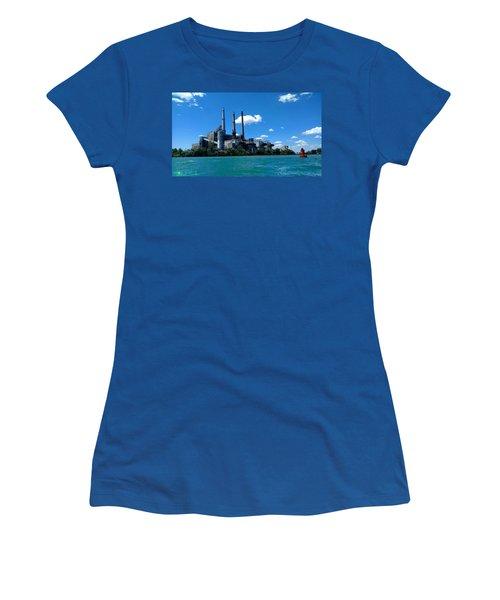 Dte River Rouge Power Plant Women's T-Shirt