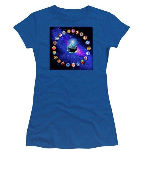 Dufette Women's T-Shirt (Athletic Fit)