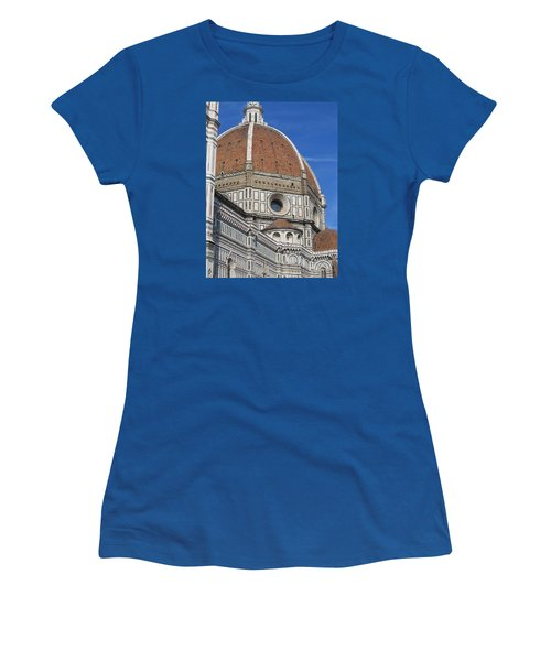 Duomo Cathedral Florence Italy  Women's T-Shirt (Junior Cut) by Lisa Boyd