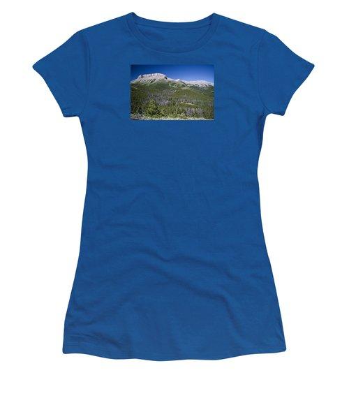 Ear Mountain, Montana Women's T-Shirt (Athletic Fit)