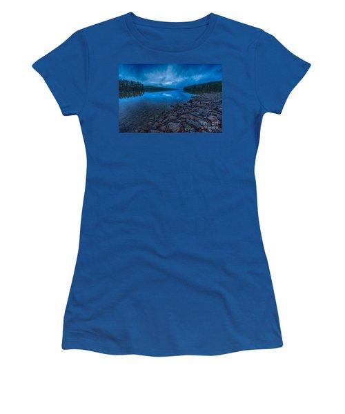 Earth Day Rain At The Tatoe Hole  Women's T-Shirt (Junior Cut) by Robert Loe