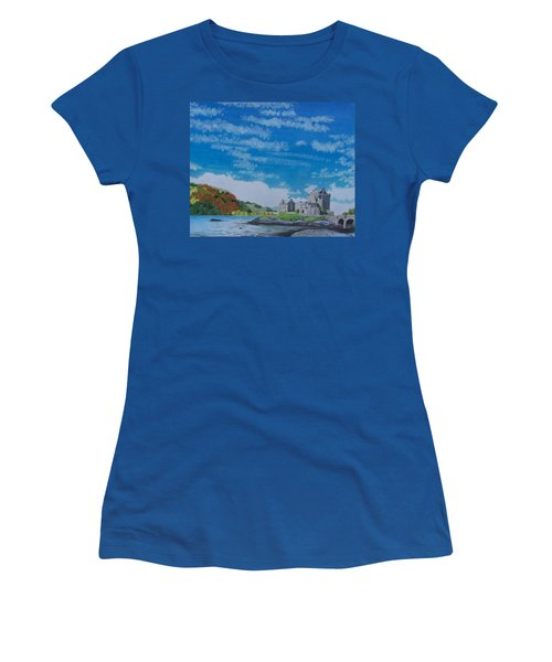 Eilean Donan Women's T-Shirt (Athletic Fit)