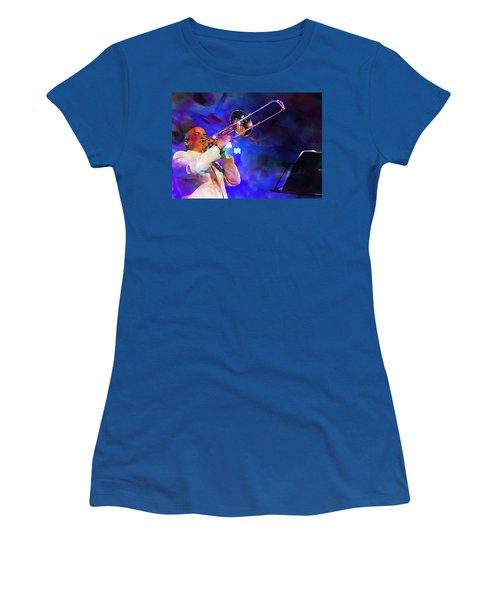 Emperor Of Salsa Dura, Jimmy Bosch  Women's T-Shirt (Athletic Fit)