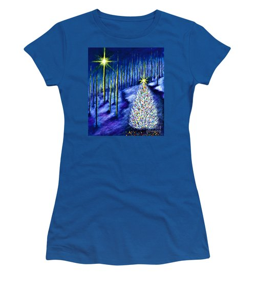 Enchanted Woods  Women's T-Shirt (Athletic Fit)