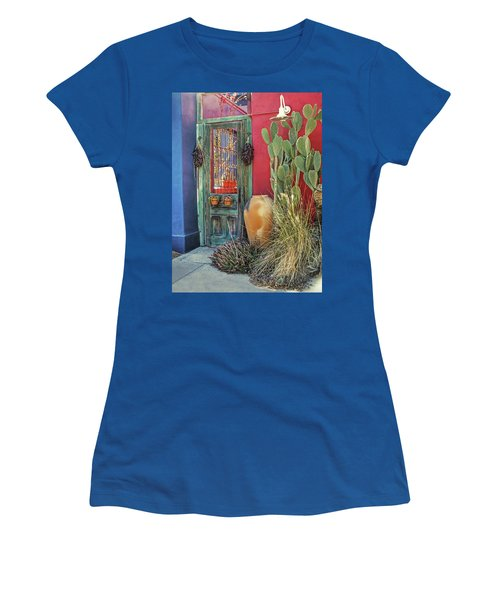Enter - You Are Always Welcome Women's T-Shirt (Junior Cut) by Lucinda Walter