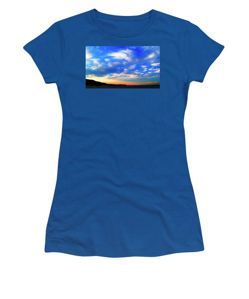 Estuary Skyscape Women's T-Shirt (Athletic Fit)