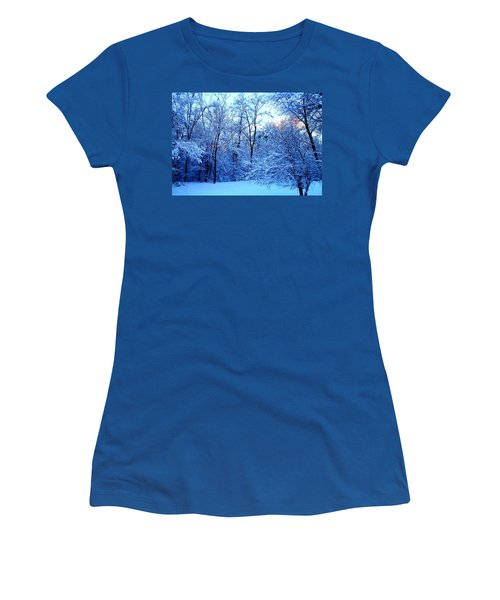 Ethereal Snow Women's T-Shirt