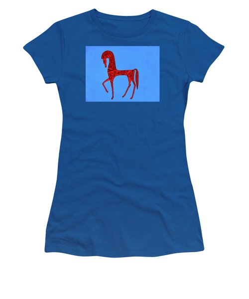 Etruscan Horse #2 Women's T-Shirt (Athletic Fit)