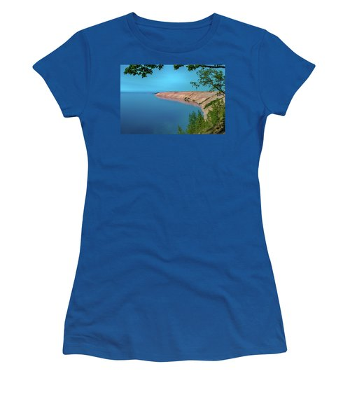 Eveing Light On Grand Sable Banks Women's T-Shirt (Athletic Fit)