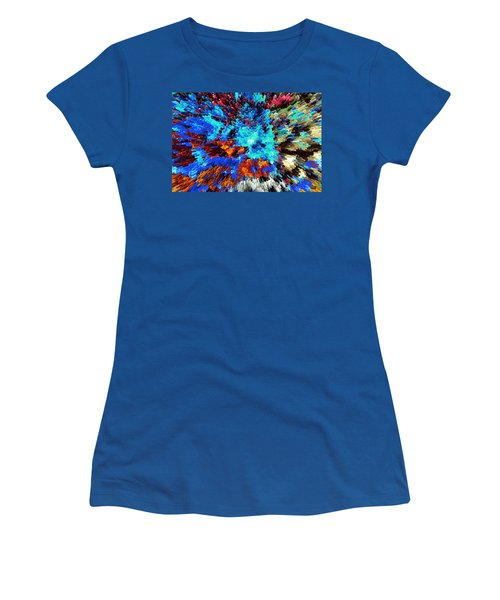 Explosion Of Color Women's T-Shirt (Athletic Fit)