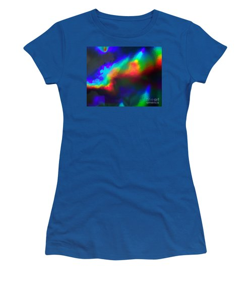 Heavenly Lights Women's T-Shirt (Athletic Fit)