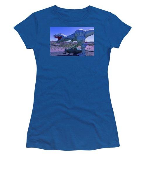 Ferious Dinosaur Trex Women's T-Shirt