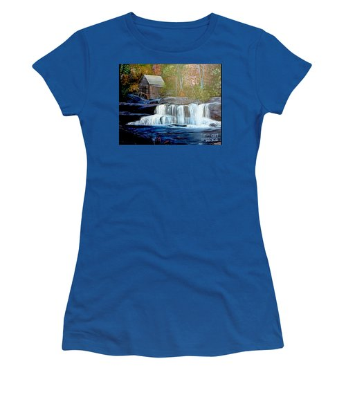 Finding The Living Waters Original Women's T-Shirt (Athletic Fit)