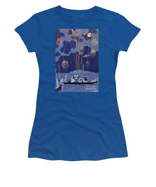 Fireworks In Venice Women's T-Shirt