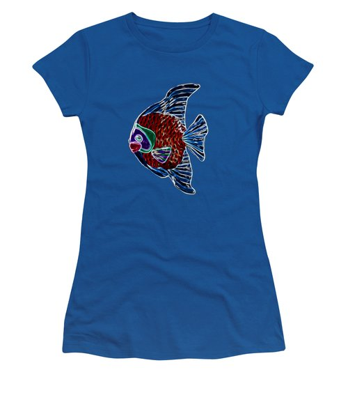 Fish Tales Women's T-Shirt (Athletic Fit)