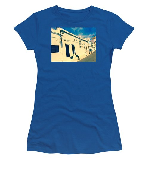 Fishermens' Cottages In Cuitadella Women's T-Shirt (Athletic Fit)