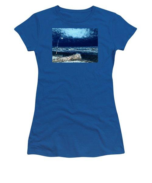 Fishing For The Moon Women's T-Shirt