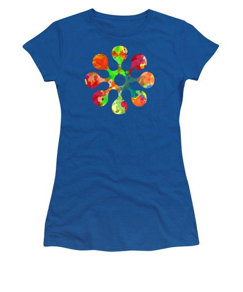 Flower Power 4 - Tee Shirt Design Women's T-Shirt (Athletic Fit)